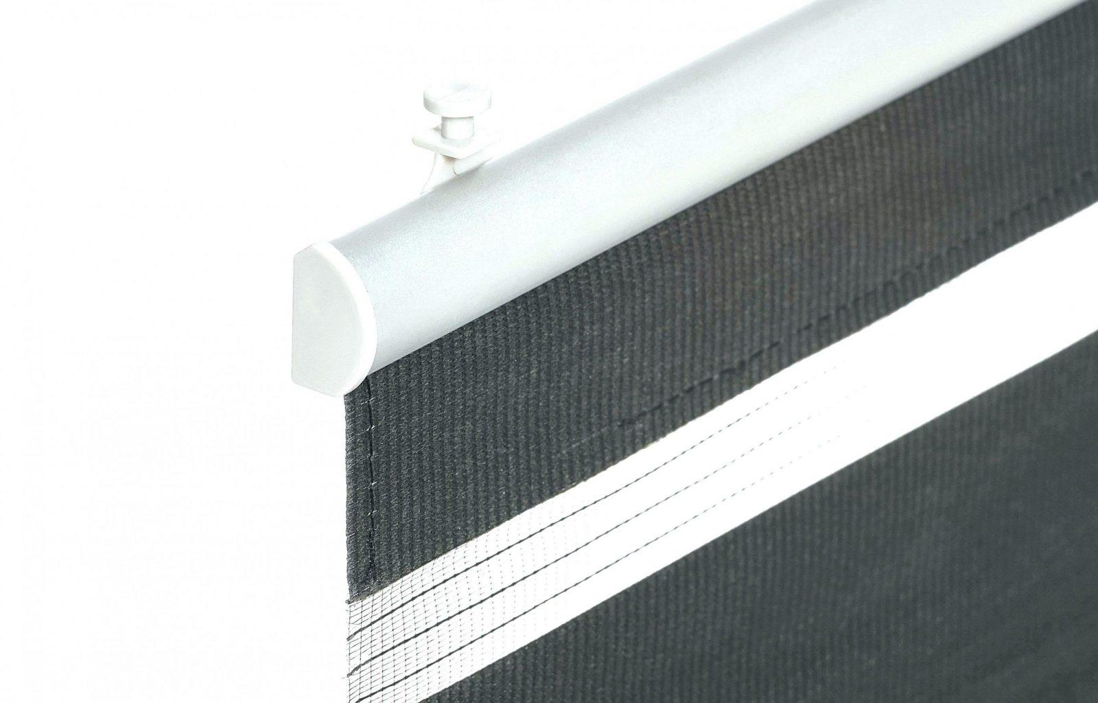 Gardinenschiene 2 Laufig Gardinenstange Innenlauf Vorhangschiene von Gardinenstange Anbringen Ohne Bohren Bild