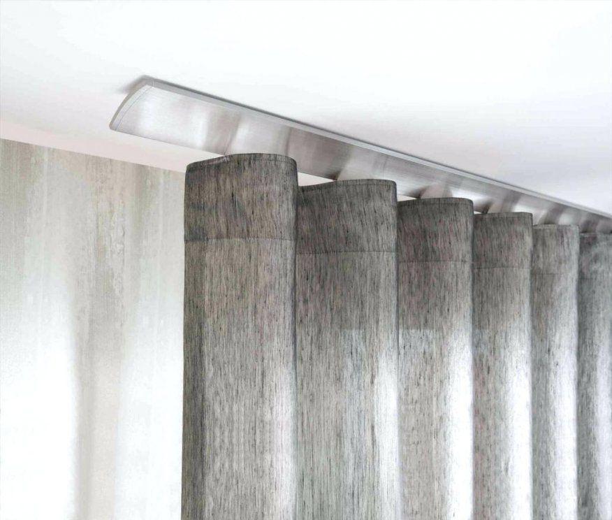 Gardinenschiene Set 2 U 3 Laeufig Bis 300Cm Laufig Alu Anbringen von Gardinenstange An Der Decke Befestigen Bild