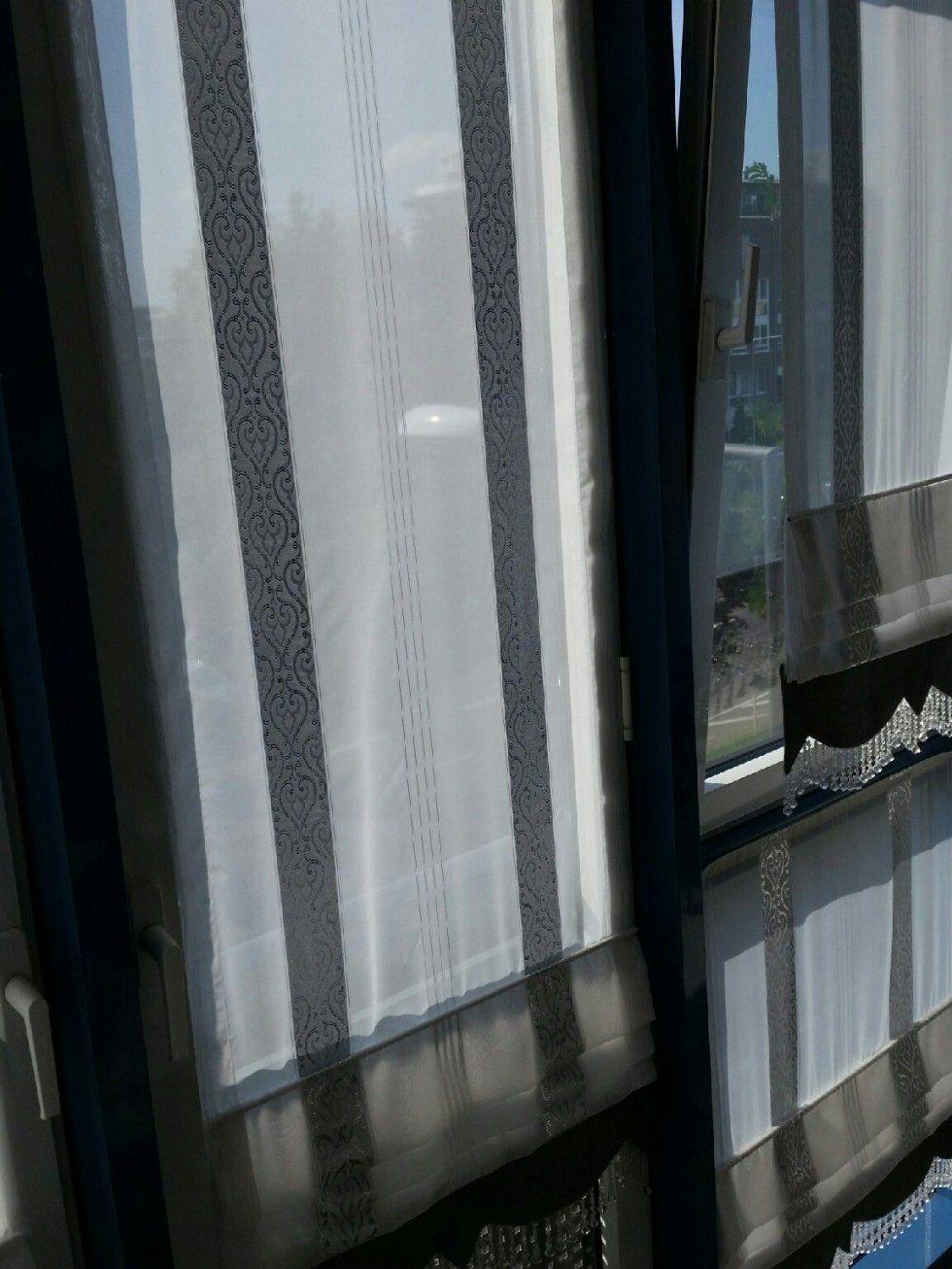 Gardinenweisssilbergrau von Dekor Markt Gladbeck Gardinen Photo