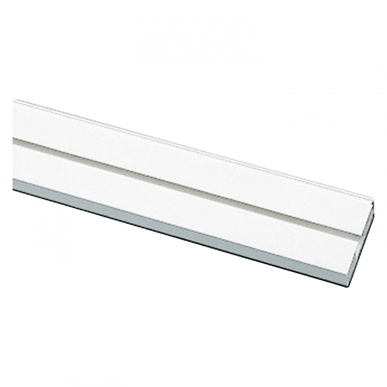 Gardinia Vorhangschiene 1Läufig Ge1 Weiß 120 Cm Kaufen Bei Obi von Gardinenschiene 3 Läufig Mit Blende Bild