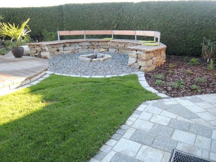 Garten Feuerstelle Stilvolle Grillstelle Im Bauen Images von Garten Feuerstelle Selber Bauen Bild