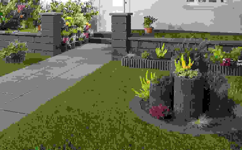 Garten Gestalten Mit Pflanzsteinen Ist Einzigartig Inspiration Von von Garten Gestalten Mit Pflanzsteinen Photo