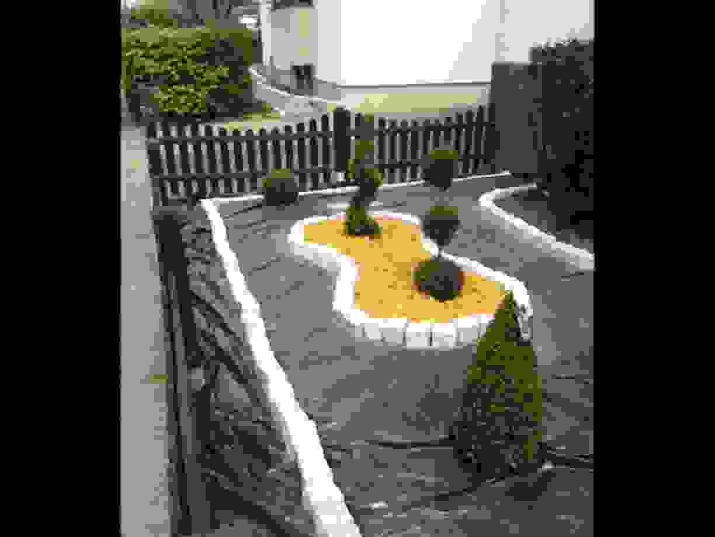 Garten Gestaltung Von Gartengestaltung Mit Steinen Und Kies Bilder von Gartengestaltung Mit Steinen Und Kies Bilder Bild