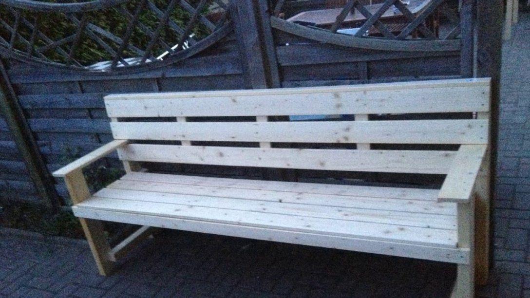 Garten Möbel Selber Bauen Garten Bank Gartentisch Selber von Garten Sitzbank Selber Bauen Bild