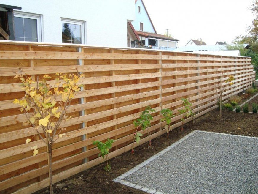 Garten Terrasse Selber Bauen Sichtschutz Fur Holz Frisch Mit Von Anleitung Bild