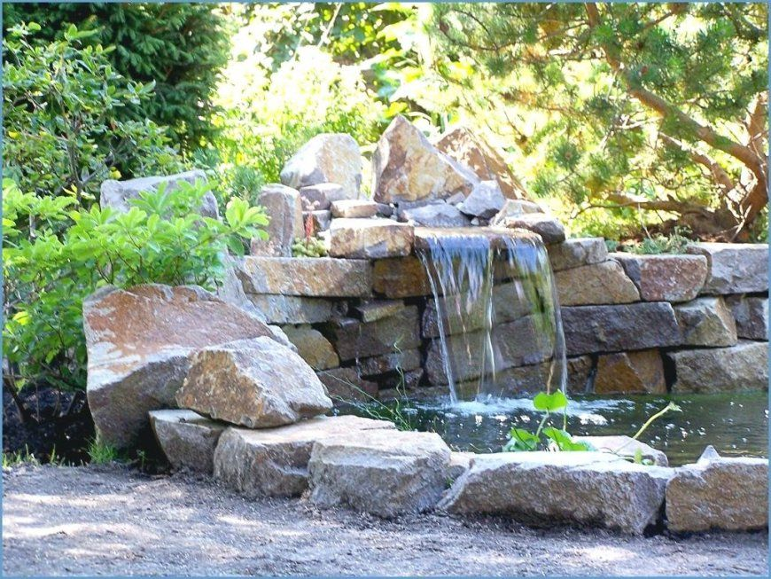 ... Garten Wasserfall Selber Bauen 38 Ideen Gartengestaltung Gartendeko Von  Wasserfall Brunnen Selber Bauen Bild ...