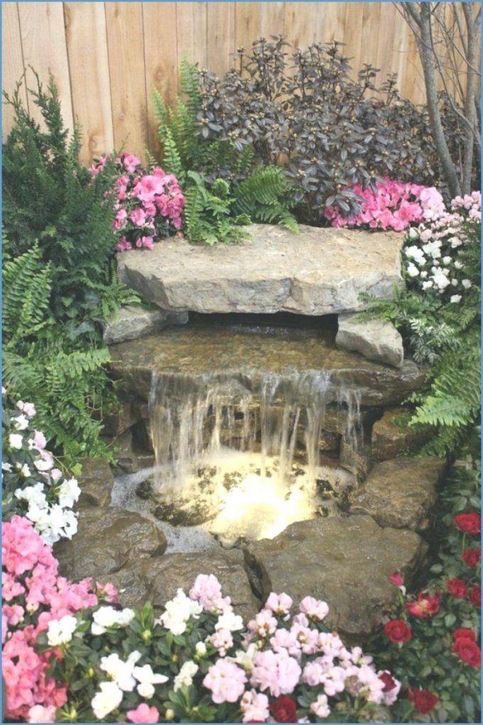 Garten Wasserfall Selber Bauen Wasserspiele A Im Mauer Selbst von Mauer Wasserfall Selber Bauen Photo