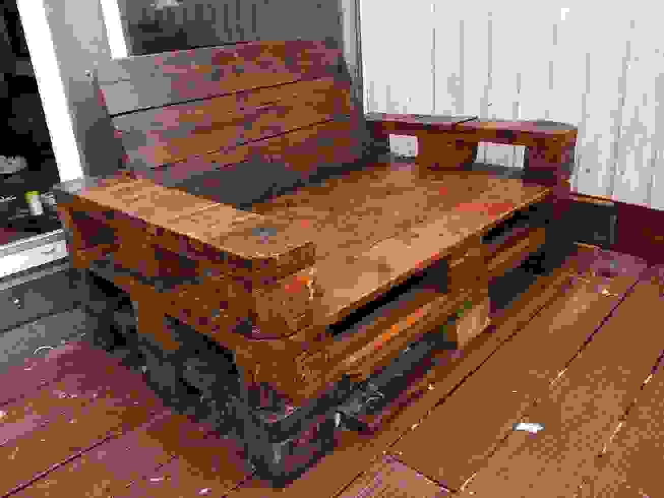 Gartenbank Aus Paletten Selber Bauen Obi Selbstgemacht Ist Frisch von Sessel Aus Europaletten Bauen Photo