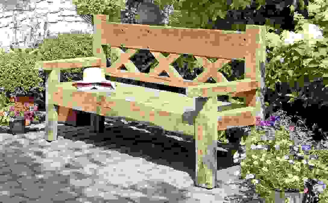 Gartenbank Holz Wetterfest Ist Frisch Planen Von Gartenbänke Holz von Gartenbank Holz Massiv Günstig Bild