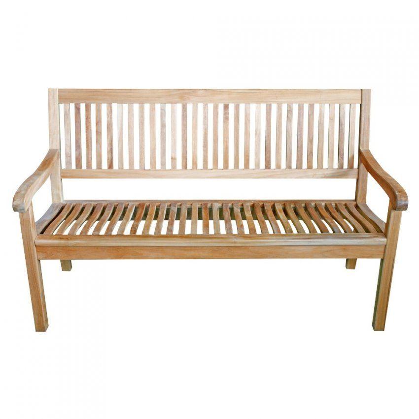 Gartenbank Kingsbury 180 Cm Für 4 Personen Aus Teakholz Mit von Gartenbank Holz 4 Sitzer Bild