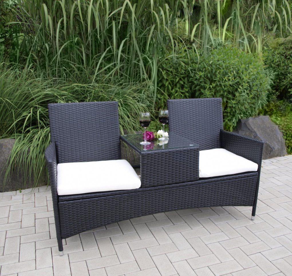 Gartenbank Mit Tisch Günstig Online Kaufen  Real von Holzbank Mit Integriertem Tisch Bild