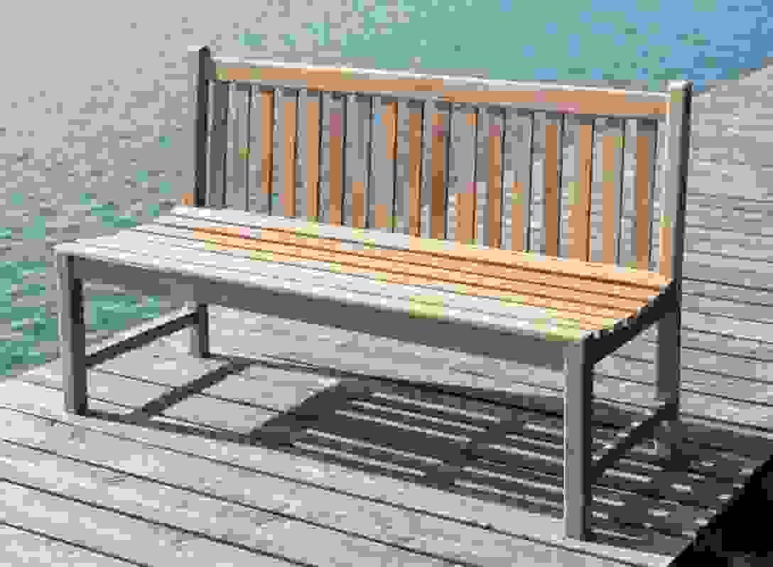 Gartenbank Picadelly 120 Cm In Premium Teak Ohne Armlehne von Gartenbank Holz 120 Cm Bild