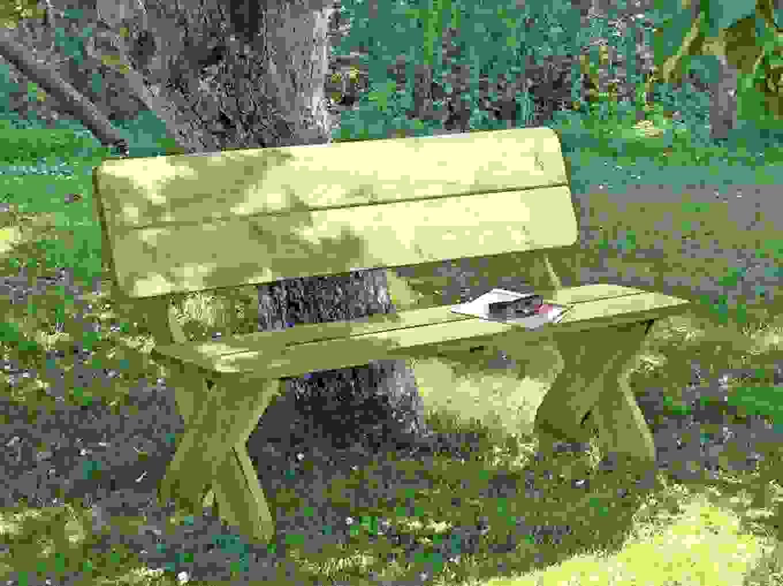 Gartenbank Toskana Holz Massiv 150X84X64Cm Bei Fantastisch von Gartenbank Holz Massiv Günstig Photo