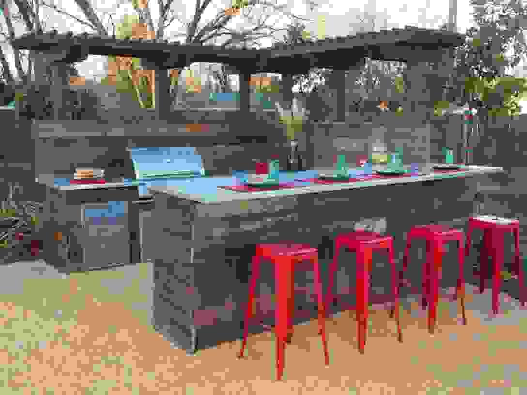 Gartenbar Selber Bauen  Freshouse von Tiki Bar Selber Bauen Bild