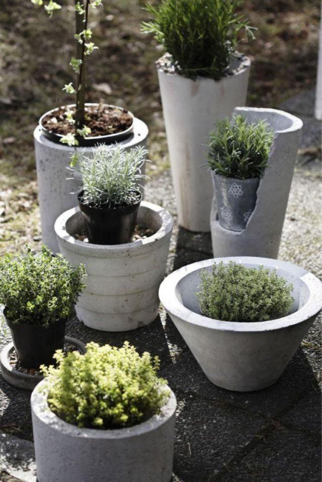 Gartendeko Aus Beton Selber Machen  28 Schöne Ideen von Gartendeko Aus Beton Selbstgemacht Bild