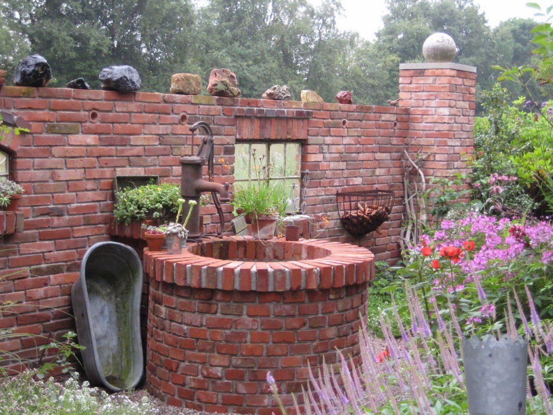 Gartendekoblog Ruinenmauern von Deko Mauer Im Garten Bild