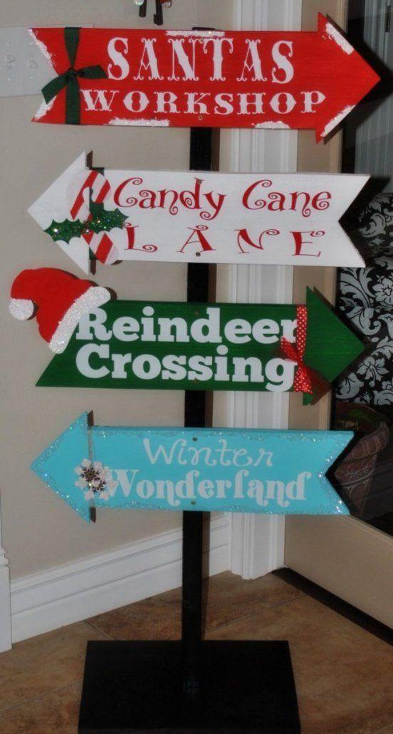 Gartendekoholzweihnachtenselbermachenrichtungsschilddekorativ von Gartendeko Weihnachten Selber Machen Photo