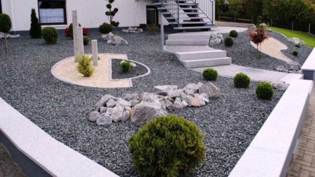 Gartengestaltung Mit Kies  Youtube von Gartengestaltung Mit Gräsern Und Kies Photo