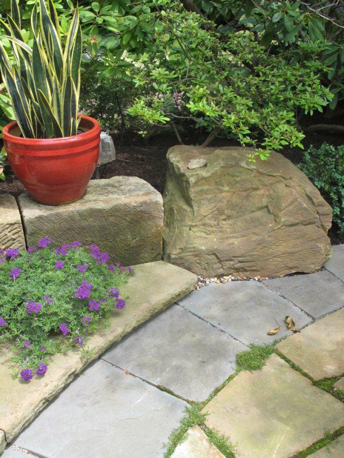 Gartengestaltung Mit Steinen  18 Inspirierende Ideen von Gartengestaltung Mit Steinen Bilder Bild
