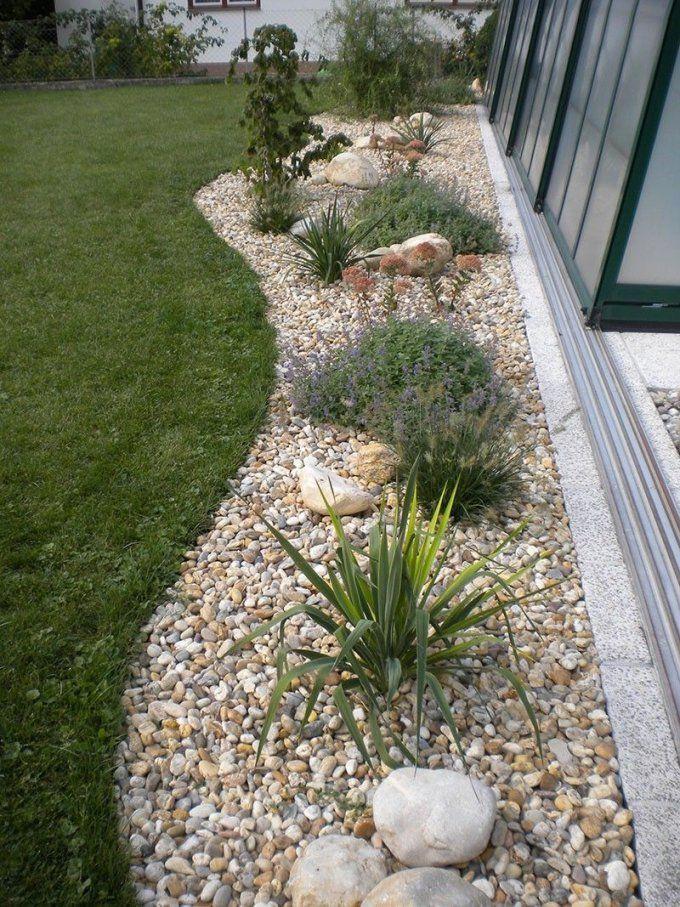 Gartengestaltung Mit Steinen Und Kies Bilder Impressum  Baum Best von Hang Anlegen Mit Steinen Bild