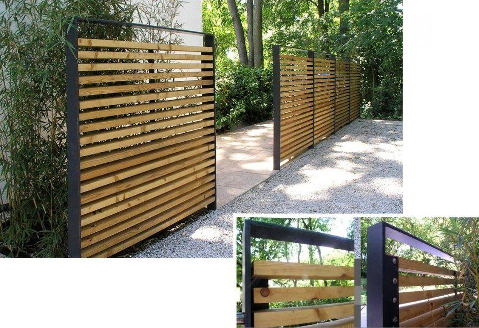 Gartengestaltung Sichtschutz  Decorlover  Outdoors von Sichtschutz Garten Holz Modern Bild