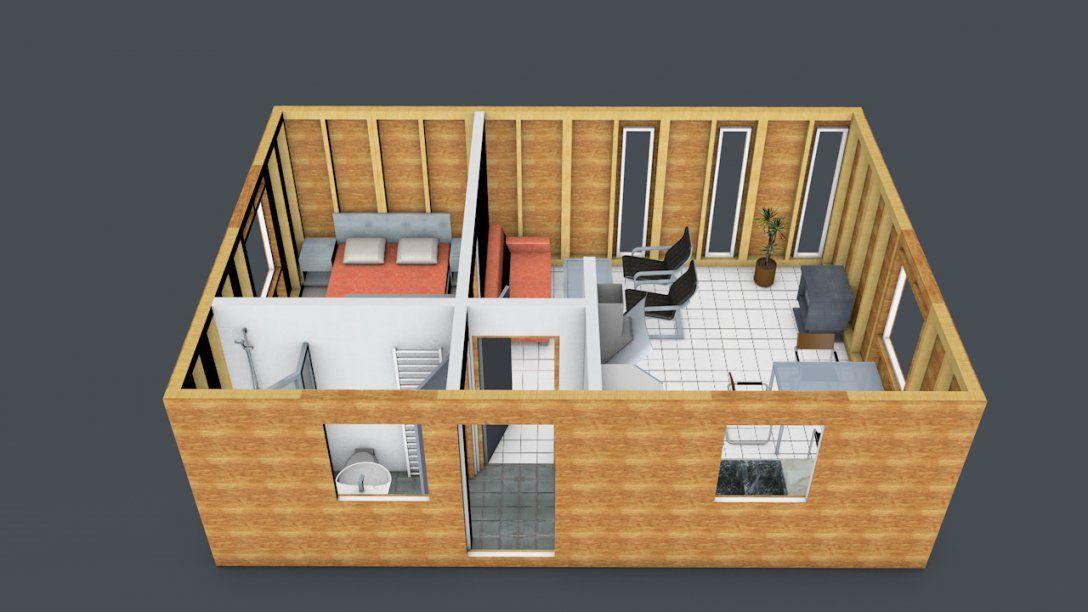 Gartenhaus Aus Holz  Ihr Kleines Wochenendhaus Im Garten Selber Bauen von Holzhaus Zum Selber Bauen Photo