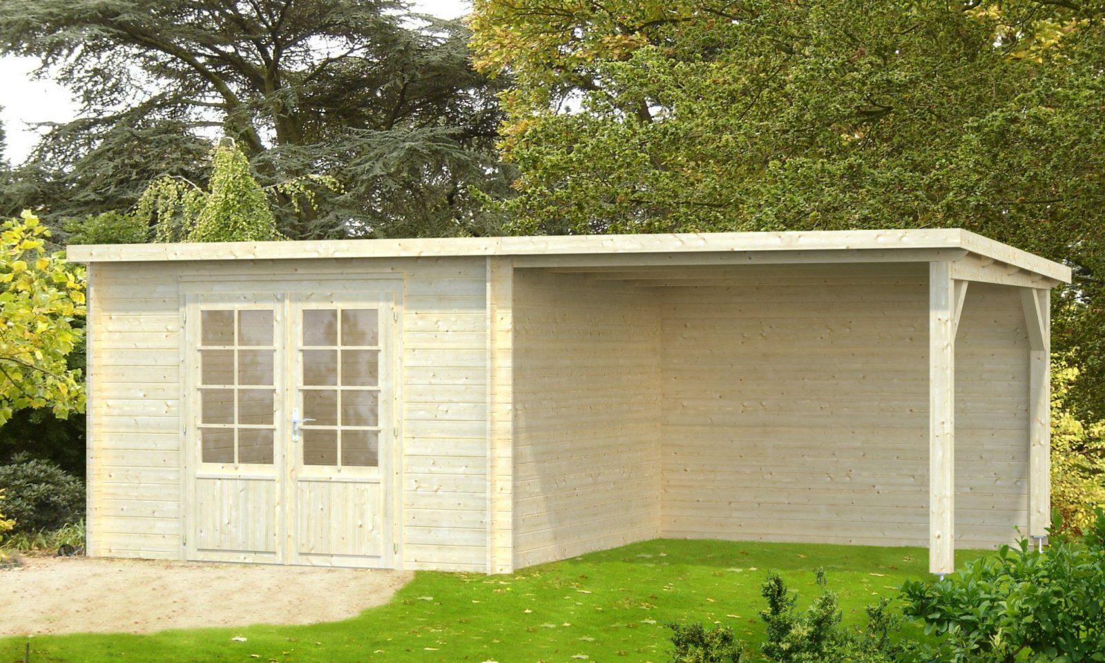Gartenhaus Ella 87 + 82 M² Mit Schleppdach Größe 610 von Gartenhaus 3 X 4 M Pultdach Photo