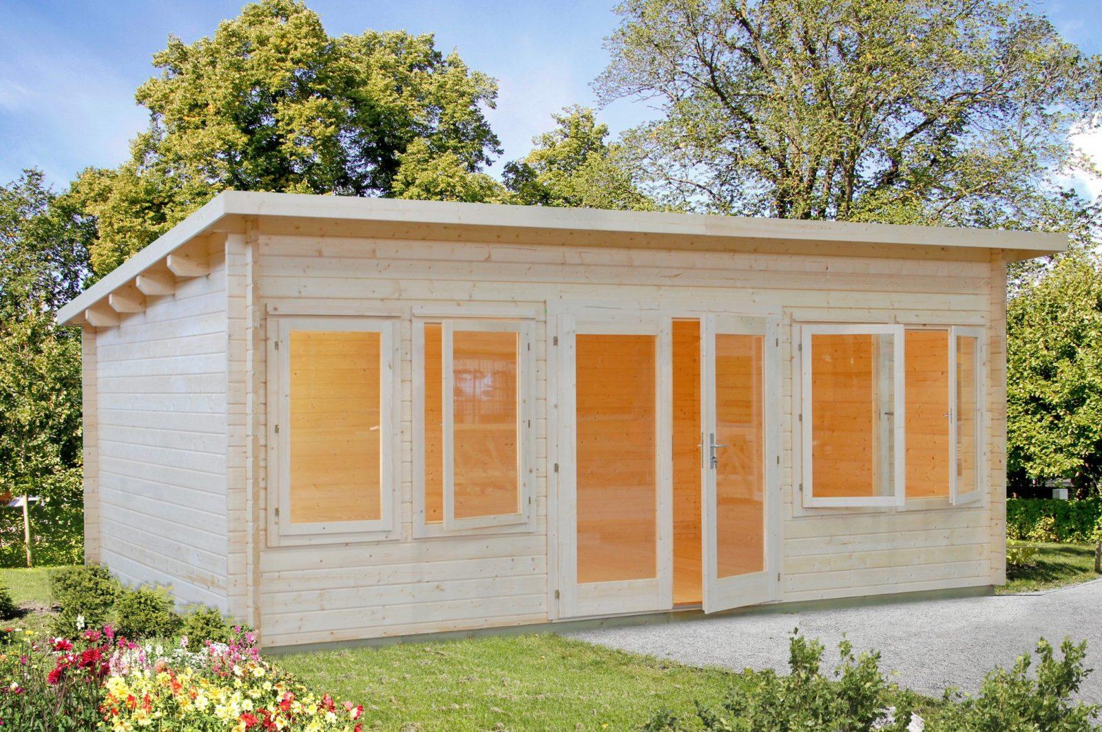 Gartenhaus Mit Pultdach  Günstig Kaufen & Liefern Lassen von Gartenhaus 3 X 4 M Pultdach Bild