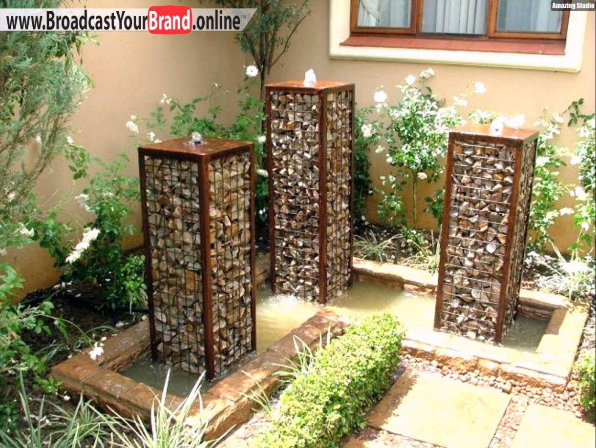 Gartenideen Zum Selber Bauen Ehrfürchtig Auf Kreative Deko Ideen Von Balkon  Brunnen Selber Bauen Photo