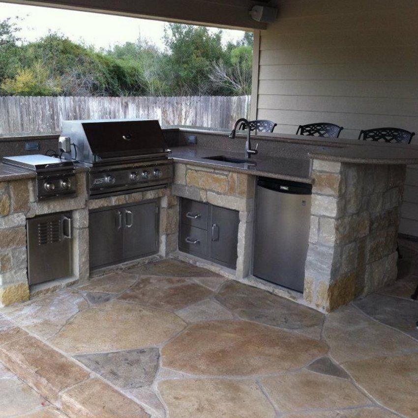 Gartenküche Bauen Im Sommer Im Garten Kochen von Outdoor Küche Selber Bauen Photo