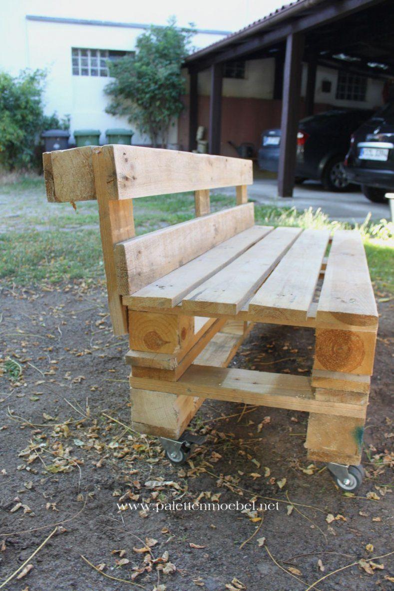 Gartenliege Für Zwei Elegant Gartenmöbel Aus Paletten Sitzbank 6 von Gartenliege Selber Bauen Aus Paletten Bild