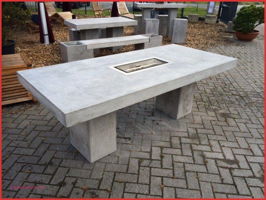 Gartenmöbel Selber Bauen Neu Gartentisch Aus Beton Selber Machen von Gartentisch Selber Bauen Bauanleitung Photo