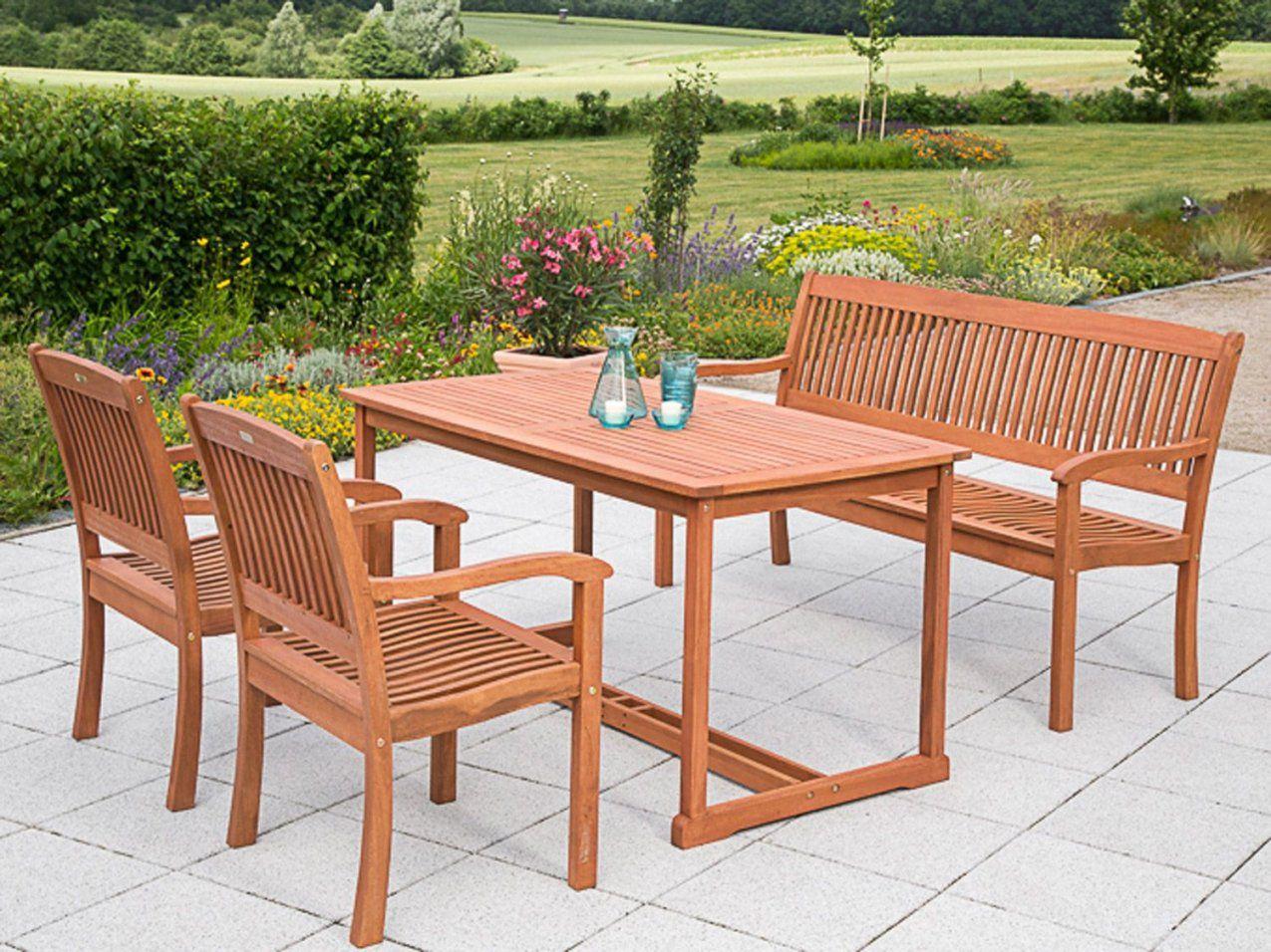 Gartenmöbel Set Holz Mit Bank  Ambiznes von Villeroy Und Boch Gartenmöbel Photo