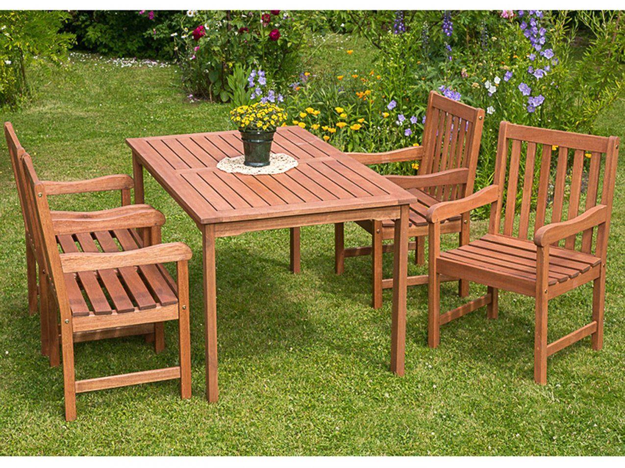Gartenmöbel Set Holz Mit Bank von Gartenmöbel Set Holz Mit Bank Bild