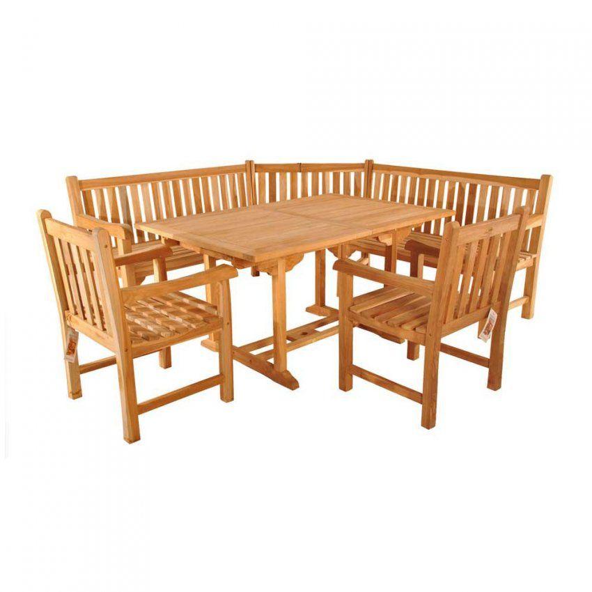 Gartenmöbel Set Mit Eckbank  Ambiznes von Gartenmöbel Set Holz Mit Bank Bild