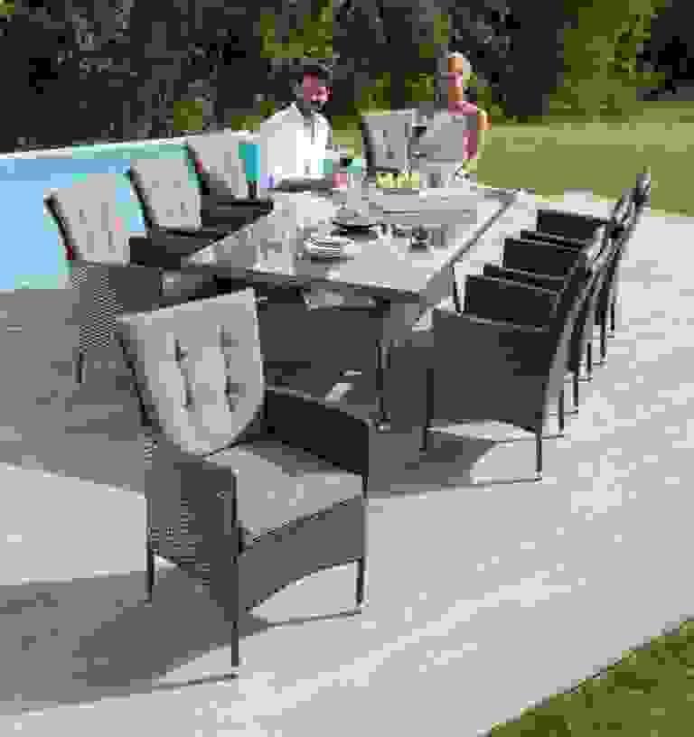 Gartenmöbelset Santiago New 26 Tlg 8 Sessel Tisch Ist Luxus Ideen von Gartenmöbel Für 8 Personen Bild