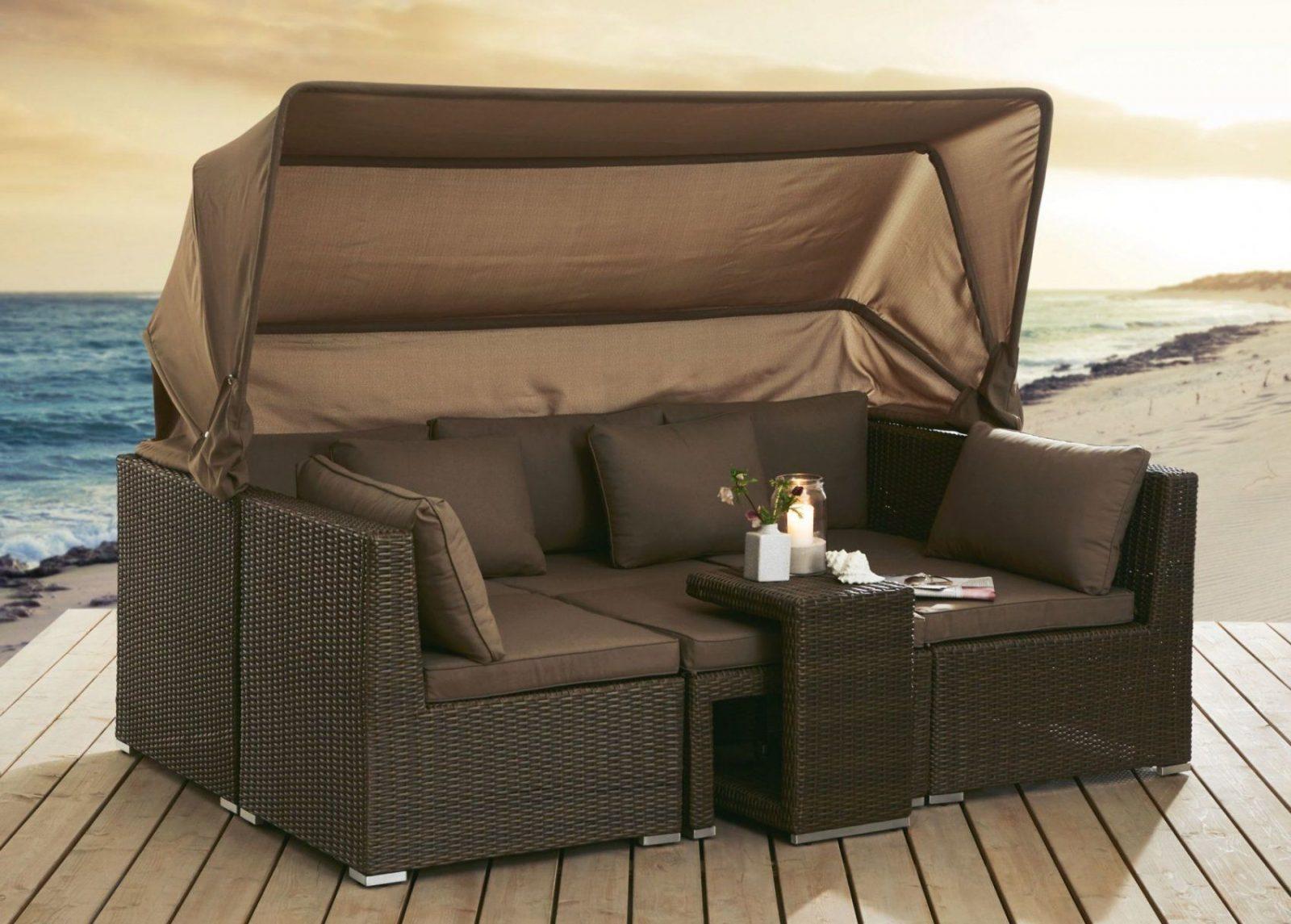 Gartensofa Mit Dach Yv65 – Hitoiro von Lounge Sofa Mit Dach Bild