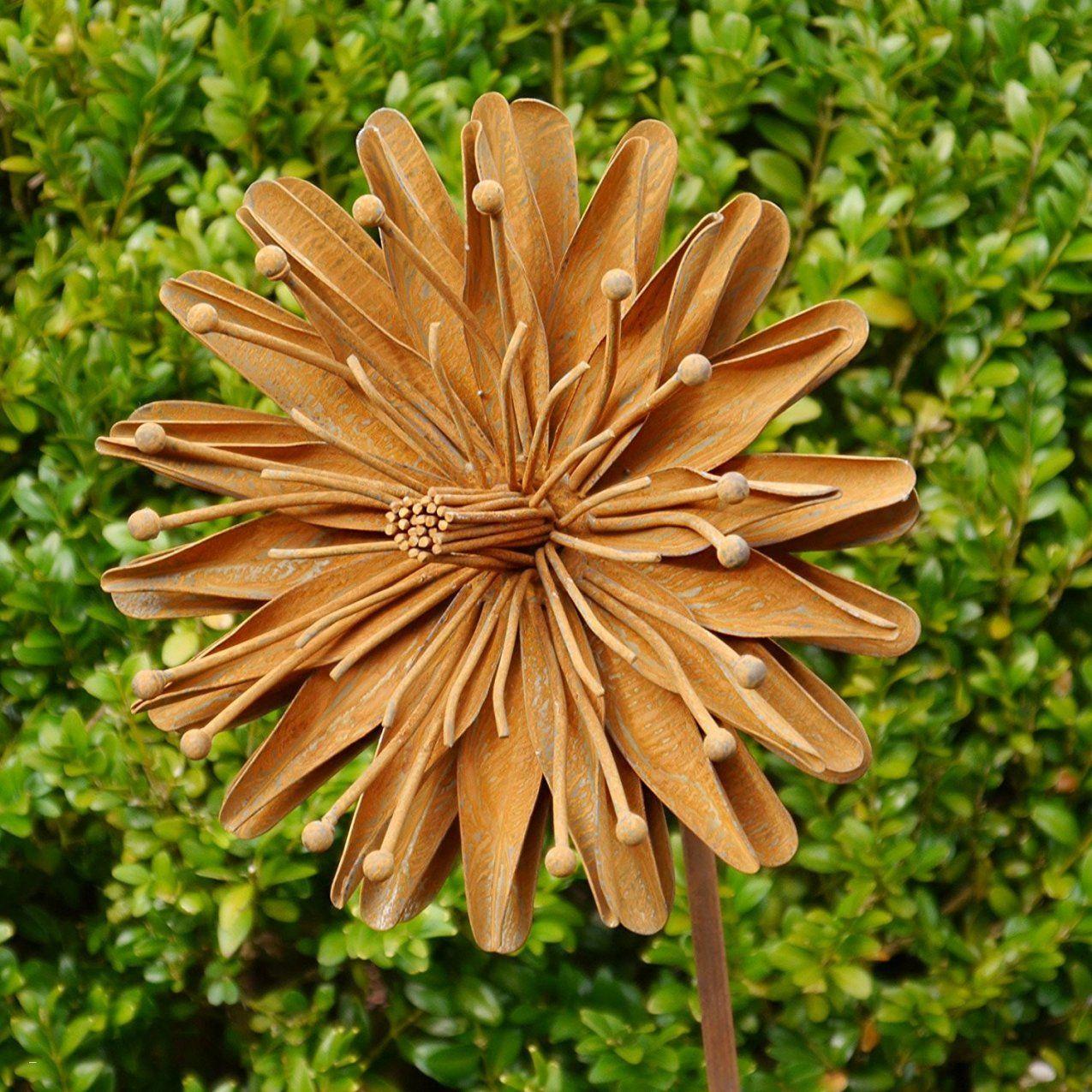Gartenstecker Rost Genial Rost Skulpturen Garten Schema  Greendmv von Rost Skulpturen Für Den Garten Bild