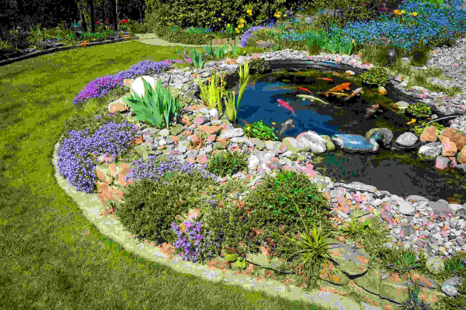 Gartenteich Fachmännisch Anlegen  Das Haus von Gartenteiche Aus Kunststoff Gebraucht Bild
