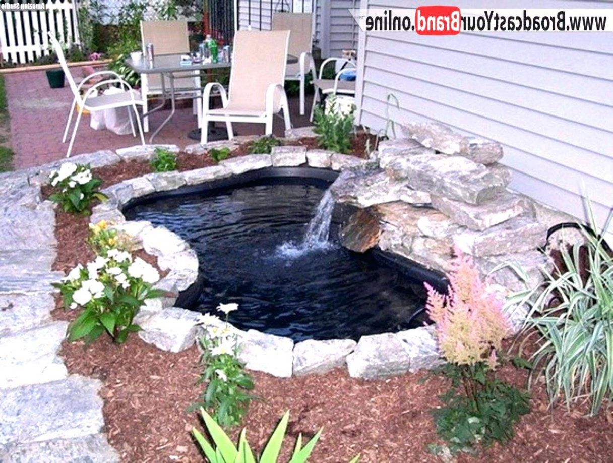Gartenteich Schön Gartenteich Wasserfall Japanischer Garten Koi von Wasserfall Gartenteich Selber Bauen Bild
