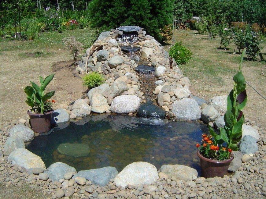 Gartenteich Selber Bauen Diy Gartenteich  Youtube von Teich Mit Wasserfall Selber Bauen Bild