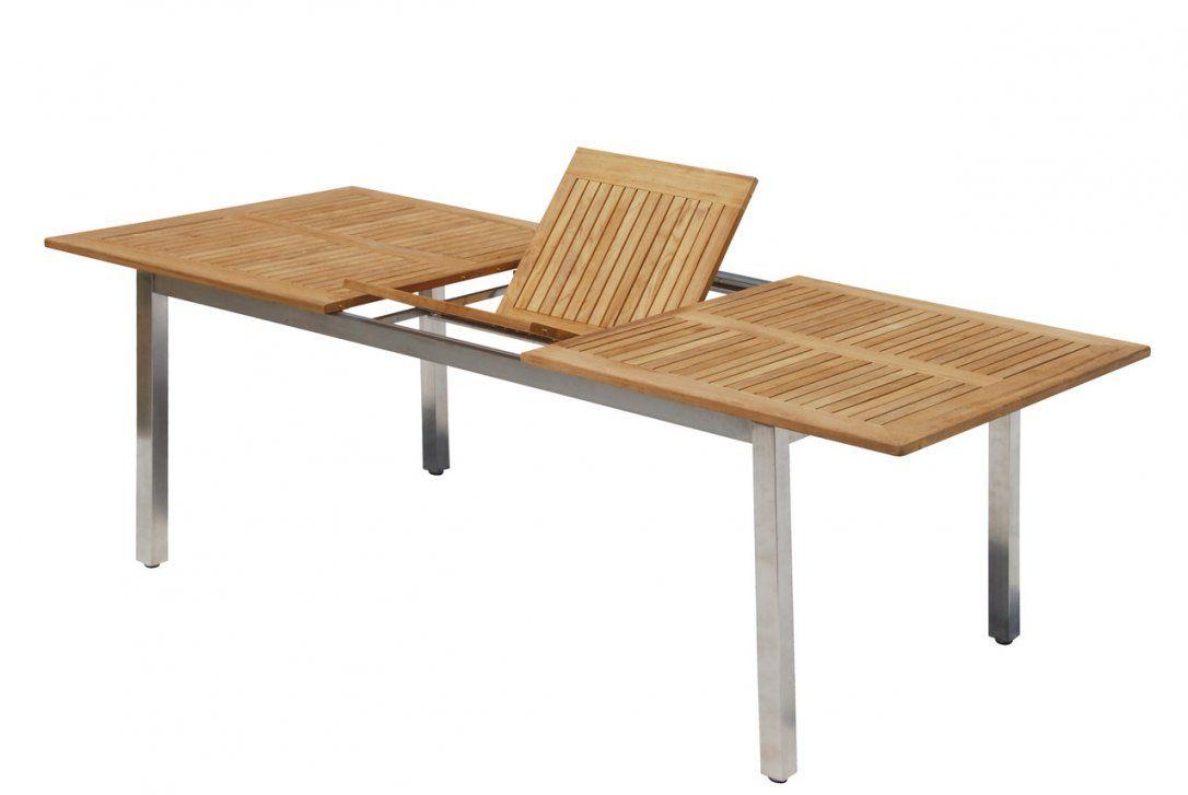 Gartentisch 100 X 60 Beautiful Stilvoll Gartentisch Teak Edelstahl von Gartentisch Teak Edelstahl Ausziehbar Bild