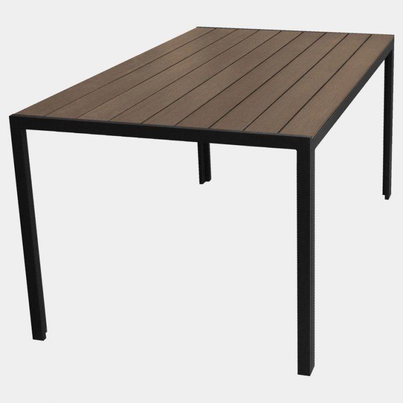 Gartentisch 12 Personen Wunderbar Alu Polywood Gartentisch 150X90Cm von Gartentisch Für 12 Personen Bild