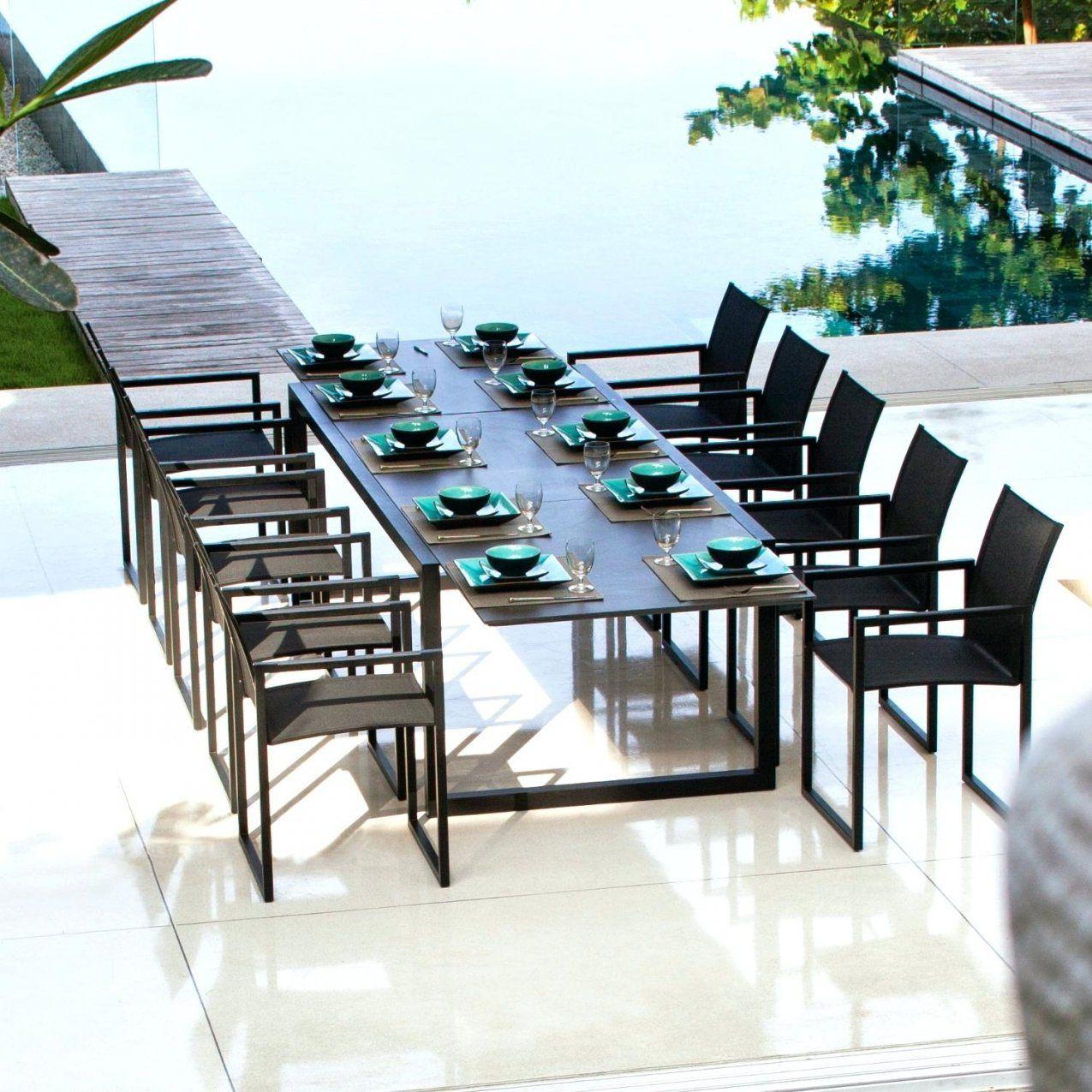 Zeitgenossisch Gartentisch 12 Personen Granit Gartentische Aus Von