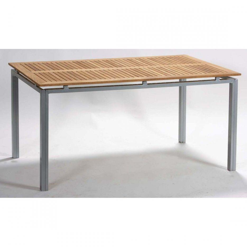 Gartentisch Alu Holz von Alu Gartentisch Mit Holzplatte Photo