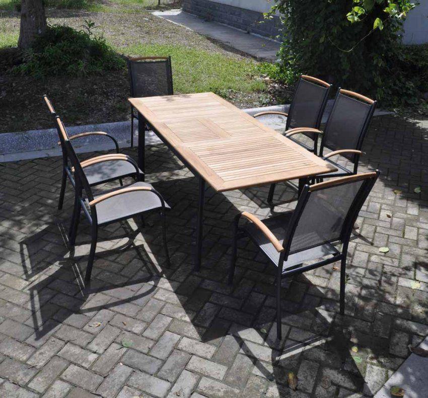 Gartentisch Aluminium Holz Perfect Gartentisch Ausziehbar Oval von Gartentisch Ausziehbar Alu Holz Bild