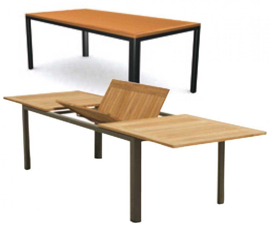 Gartentisch Metall Ausziehbar Latest Gartentisch Metall Ebenfalls von Gartentisch Ausziehbar Alu Holz Bild