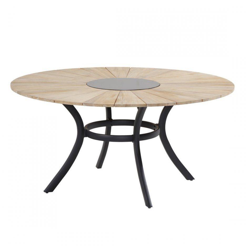 Gartentisch Rund Aluminium Top Merxx Gartentisch Tisch Rund Ravenna von Gartentisch Rund 150 Cm Bild