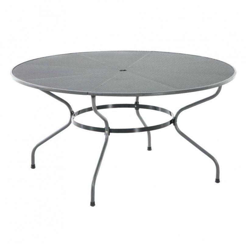 Gartentisch Rund Metall 120 Cm Grun 80 Gebraucht – Hireapatriot von Gartentisch Rund 120 Cm Metall Bild