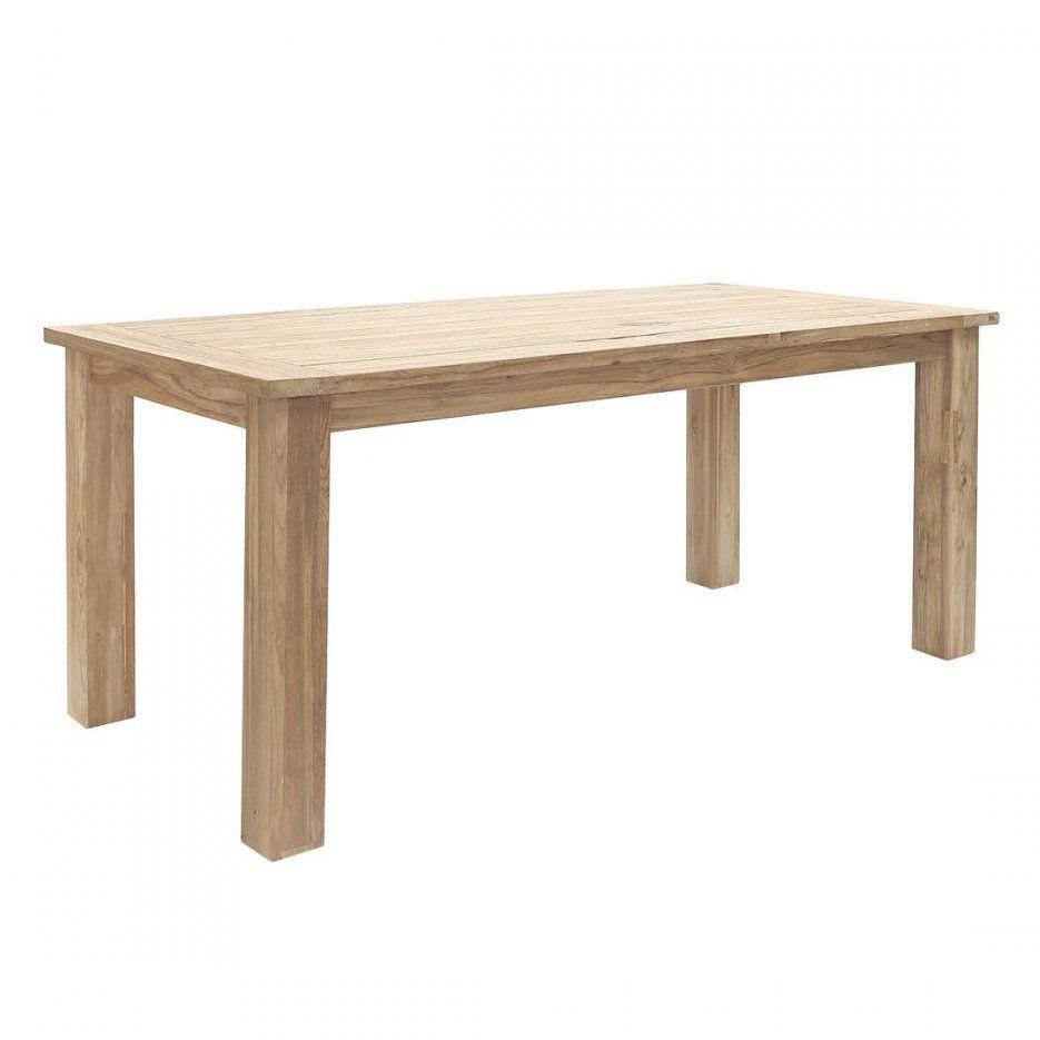 Gartentische Mit Holzplatte  Garten & Freizeit von Alu Gartentisch Mit Holzplatte Bild